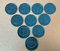 Air Force Reserve Command BLUE Tokens Coins Above And Beyond Lot of 10 Tokens
