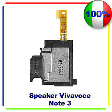 CASSA SUONERIA RINGER SAMSUNG Note 3 N9005 VIVAVOCE BUZZER ALTOPARLANTE