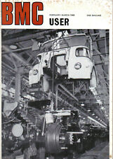 BMC User Feb-Mar 1968 FM 420 Mini Van & Moke J2 M16 Caravan Ward & Leech +