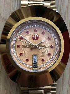 mens genuine Vintage Swiss Rado Diastar. Great Time Keeper