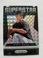2013 (GIANTS) Panini Prizm Superstar Spotlight #SS2 Matt Cain 1/1