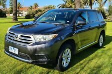 Toyota Kluger KX-R AWD V6 200kw with Tow Ball