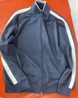 EUC STARTER Men's Size Large Athletic Jacket Blue Full Zip Up running  XL