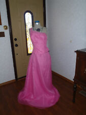 Formal prom evening bridesmaid mother of bride Sz 13-14