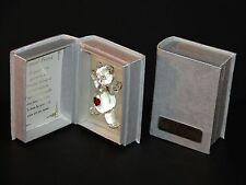 Personalised best friend poem crystal teddy bear creative gift Birthday CG4