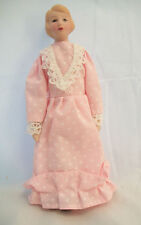 "Porcelain Doll Victorian Woman dollhouse miniature  1"" scale  1pc O6816"