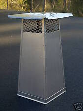 19'' X 19''-30'' Extended Height Stainless Steel Chimney Cap