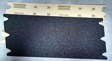 "Floor Sander Sandpaper - Drum Sander - 8"" x 19 1/2"" 36g"
