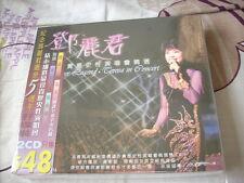a941981 Double 2 CD Teresa Teng Live Concert 鄧麗君 珍貴歷史性演唱會精選 Sealed