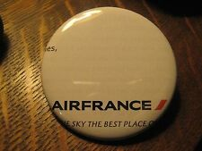 AirFrance Air France AF Airplane Logo Flight Attendant Pocket Lipstick Mirror