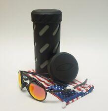 OAKLEY Madman Men's Sunglass OO6019-04 Dark Carbon/Ruby Iridium Plrzd / RX28/30