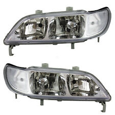 1997 1998 1999 Acura Cl Headlights Headlamps Lights Lamps Pair