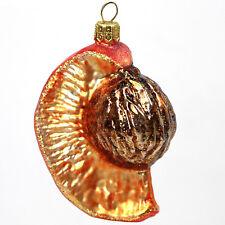 Décorations pour arbre de Noël Peach verre Figure en ornement Décoration