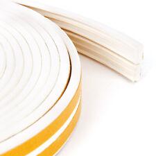 10m E Foam Fit Door Window Twin Draft Draught Tape Excluder Seal Strip Roll
