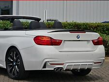 Heckspoiler aus Echtcarbon wie Performance passend für BMW 4er F33 Cabriolet