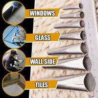 14pcs Caulking Nozzle Finisher Silicone Sealant Glue Remover Stainless Steel
