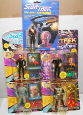 Star Trek Figures Lot Chief Miles O'Brien, Wesley, Dathon, Gowron, Worf