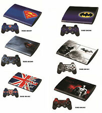 Stickers Cover skin adesivi PLAYSTATION 3 ULTRA SLIM BATMAN SUPERMAN KEEP CALM