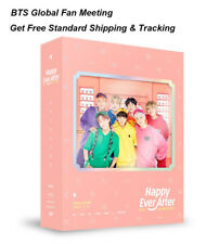 <BTS>Global Fan Meeting-4th MUSTER[HAPPY EVER AFTER]DVD+P.Book+P.Card+etc.SEALED