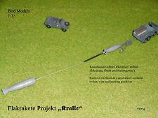 """Flakrakete Projekt """"Kralle""""          1/72 Bird Models Resinbausatz / resin kit"""