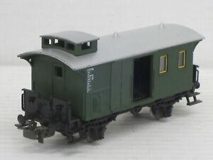 kurzer Gepäckwagen / Gepäckwaggon, grün, Märklin, 1:87 / HO, ohne OVP