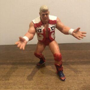 WCW Dustin Rhodes Galoob UK Exclusive Vinatage Action Figure 1991