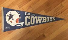 Dallas Cowboys NFL Football Vintage Pennant Flag 11.5'x29.5'