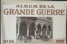 Album imprimé en  photographié en noir et blanc en édition allemand N°34 1917 A5