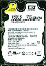 WD7500BMVW-11AJGS4,  HHOTJHB  WESTERN DIGITAL 750GB USB 3.0