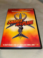 Snakes on a Plane Dvd Widescreen Samuel L Jackson Action Movie