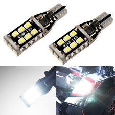 Total 1600LM High Power White 921 912 W16W T15 Reverse Backup Light Bulbs
