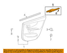 TOYOTA OEM 11-13 Corolla Interior-Rear Door-Switch Bezel Trim Right 7427102260B0