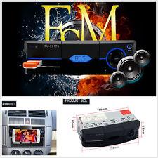 Car Audio Stereo Mp3 Player FM Radio Single Din Phone Holder&Bluetooth Handsfree