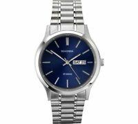 Sekonda Men's Stainless Steel Adjustable Bracelet Watch With A Classic Look NEW