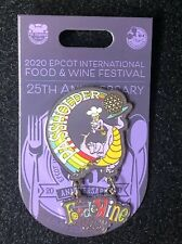Disney Epcot Food And Wine 25th Anniversary Figment Passholder Pin Le 3000 New