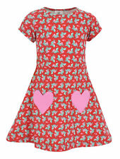 Girls Valentine's Day Shark Dress Outfit