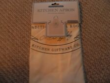 cooking, kitchen, apron, 100% cotton, new with tags , cooking at christmas