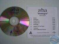 A-HA ANALOGUE france french CD PROMO SAMPLER