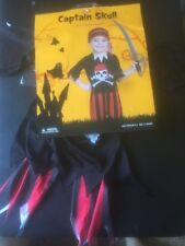 Pirate Halloween Costume Toddler Size 2-4 Ages 1-2 - No Sword Included