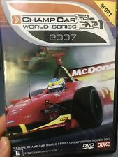 Champ Car World Series Championship 2007 Review ex-rental region 4 DVD (Cars)