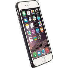 Krusell Sala Lightweight Aluminium Bumper Protecive Case for iPhone 6 7- Black