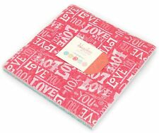 "Hugaboo Brushed Moda Layer Cake 42 100% Cotton 10"" Fabric Quilt Squares"