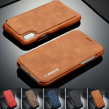 For iPhone 11 Pro XS Max XR 6 7 8 Plus Flip Leather Case Card Wallet Cover Stand