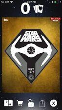 Topps Star Wars Digital Card Trader Gold Modernography Vader's Tie Insert Award