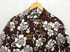 Hawaiian Aloha Friday Shirt Floral Hibiscus XL Made in Hawaii Reserve Collection