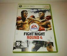 Fight Night Round 4 Pal Spain Xbox 360 Original version Complete 2009