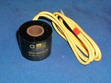 ASCO 222-182-5D SOLENOID VALVE COIL HIGH TEMPERATURE 24 VDC HT 2221825D
