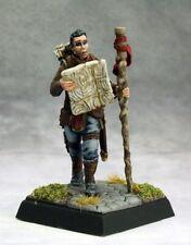 Pathfinder Explorer Reaper Miniatures Rogue Bard Caster Melee Map Staff Sword