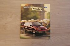 FORD WINDSTAR BROCHURE / PROSPEKT 1997