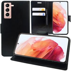 """Schutzhülle Für Samsung Galaxy S21 5G 6.2"""" SM-G991 Handy Brieftasche Case"""